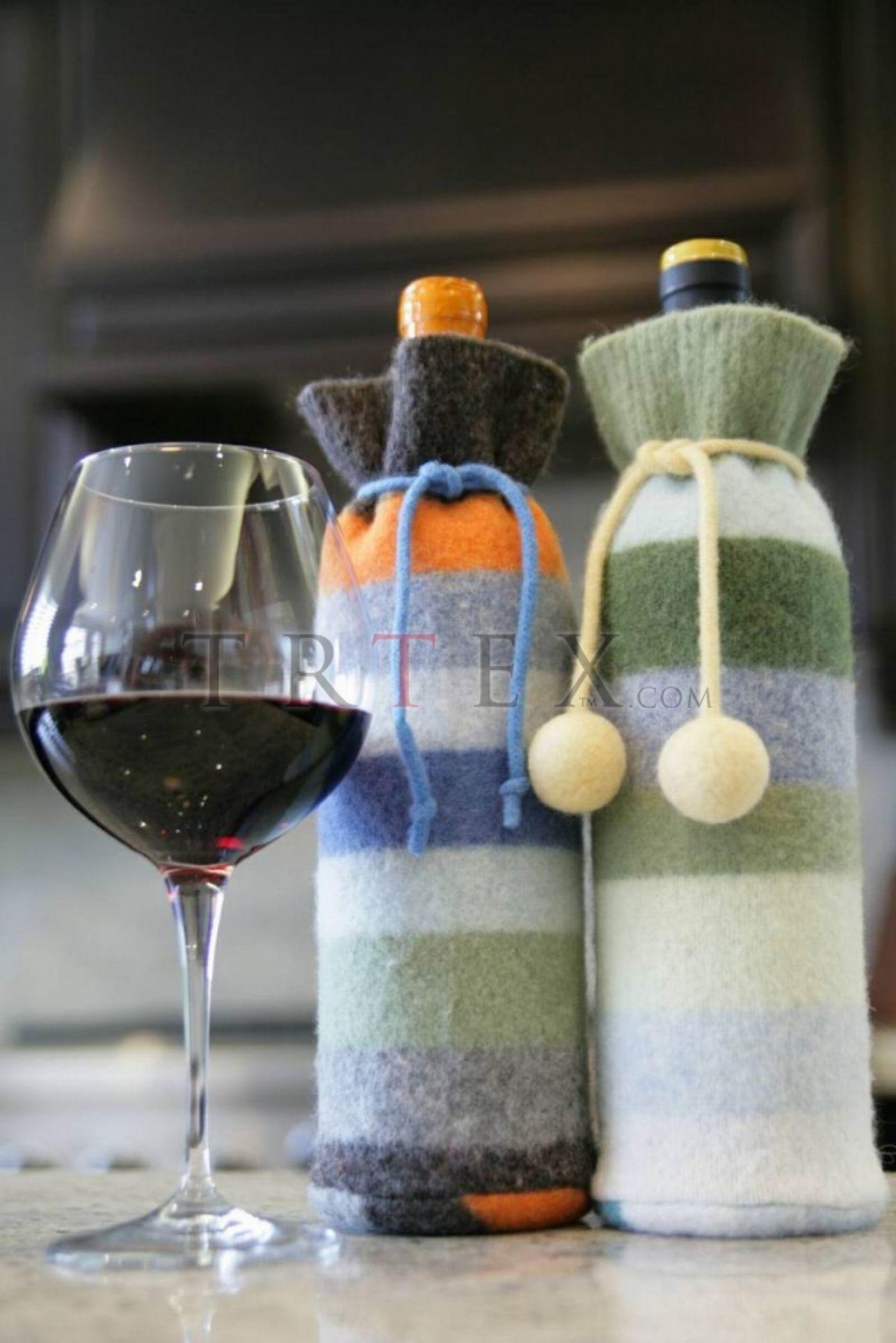 Как упаковать бутылку вина в подарок