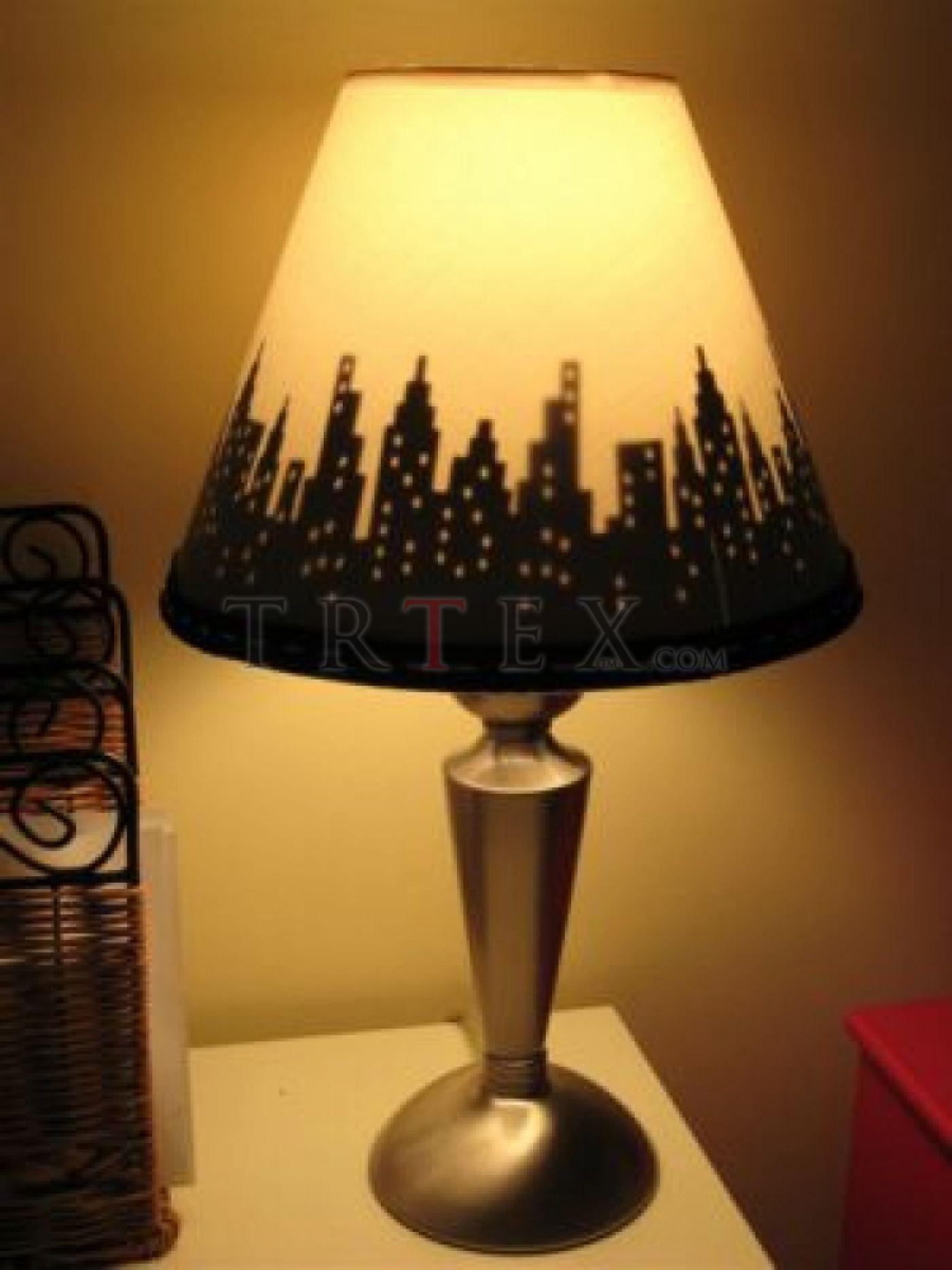 Как сделать декоративную лампу своими руками